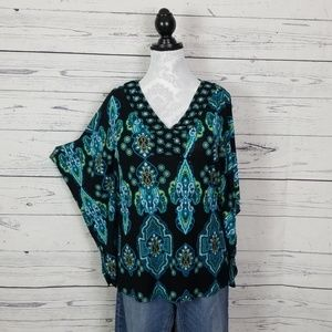 Madison butterfly sleeve tunic